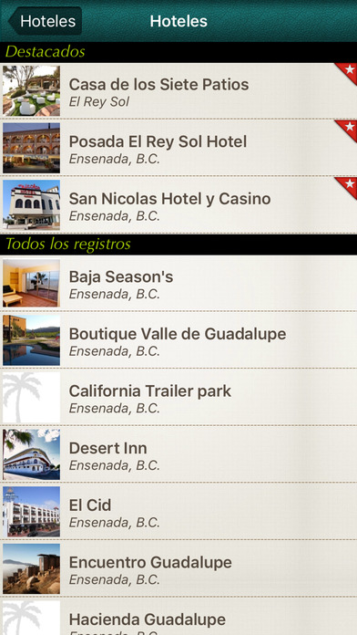 Ensenada Happy Discover iPhone Screenshot 4