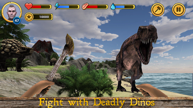 Dinosaur Island Survival 3D Screenshots