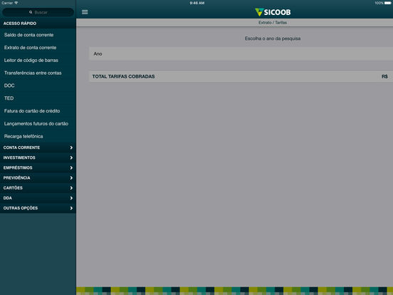 Sicoob iPad Screenshot 4