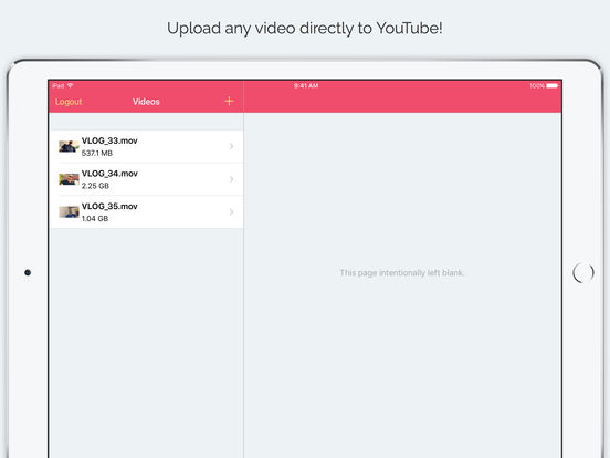 YouUpload – Upload videos for YouTube Screenshots