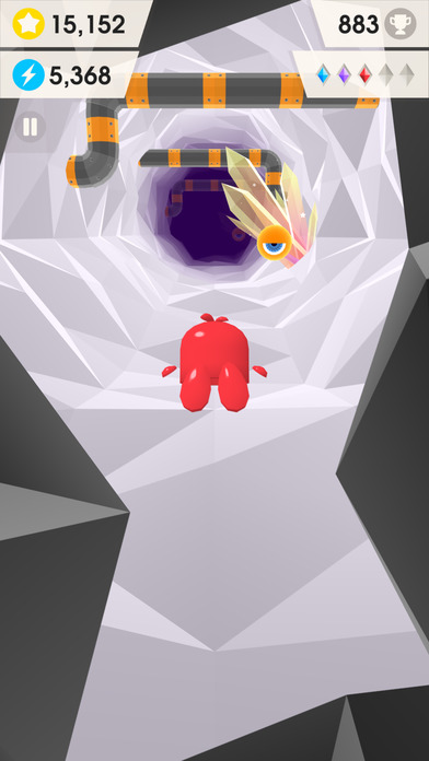 Catchy Crystals - Endless Cave Flyer Screenshot
