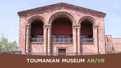 Toumanian Museum AR/VR screenshot for iPhone