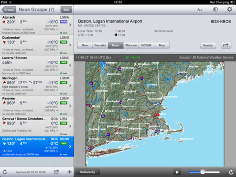 AeroWeather Pro Screenshots