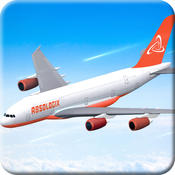 Airplane Flight Simulation 3D – Realistic Jumbo Jet Driving Adventure Oyunu iPhone için