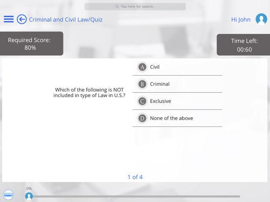 US Law for iPad iPad Screenshot 4