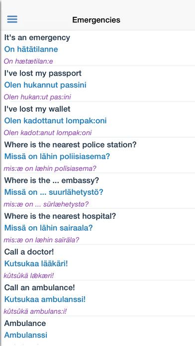 Finnish Dictionary iPhone Screenshot 5
