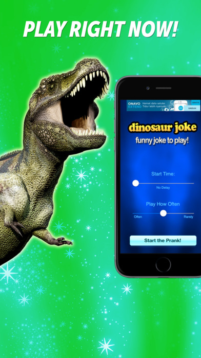 Dinosaur Joke iPhone Screenshot 1