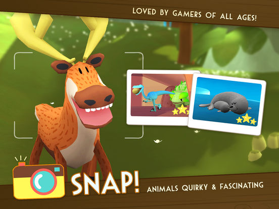 Snapimals: Discover & Snap Amazing & Cute Animals!screeshot 1