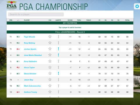 PGA Championship iPad Screenshot 3