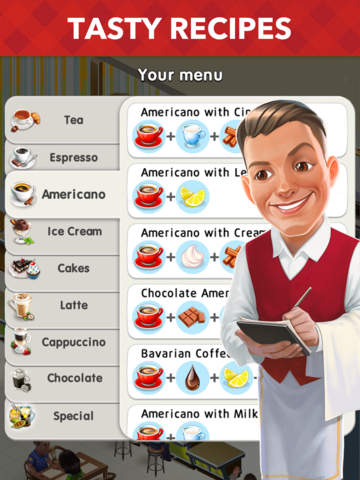 My Cafe: Recipes & Stories Screenshots