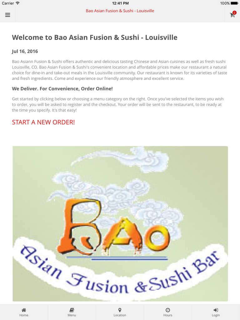 App Shopper: Bao Asian Fusion & Sushi Bar - Louisville Online ...