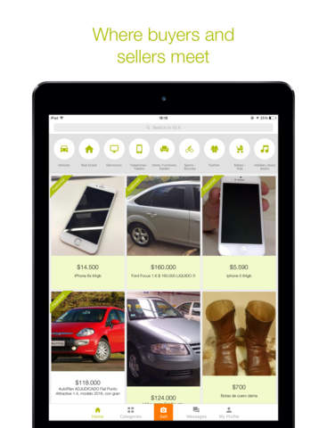 Screenshots of OLX Free Classifieds for iPad