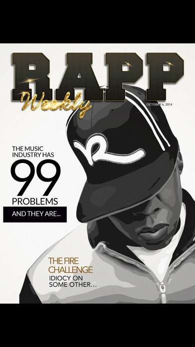 Rapp Weekly iPhone Screenshot 1