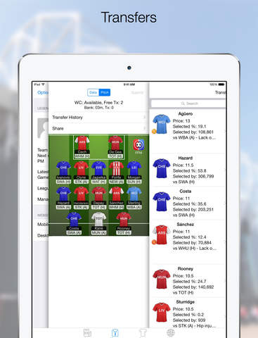 Fantasy Football Manager - FFM for FPL Screenshots