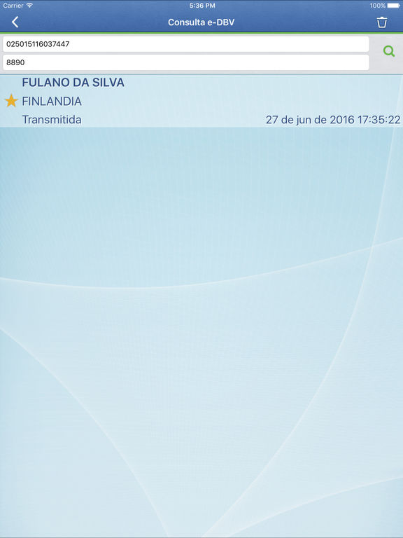 Captura de tela do iPad 4