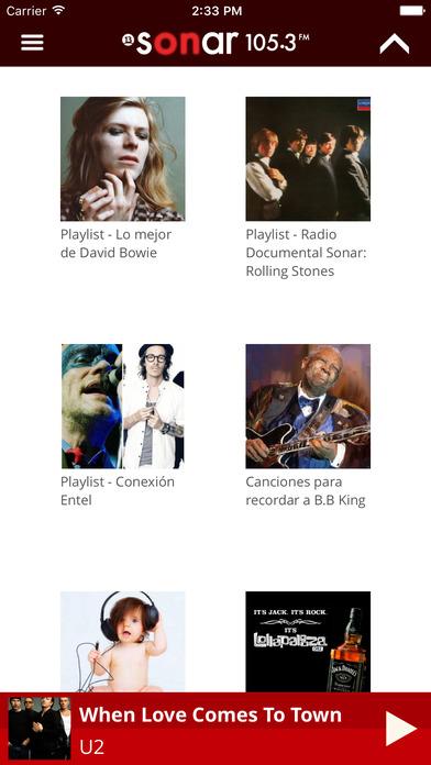 Sonar FM Mobile iPhone Screenshot 5