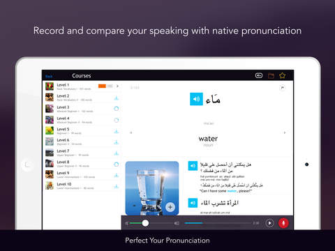 Learn Egyptian Arabic Vocabulary - Free WordPower iPad Screenshot 3