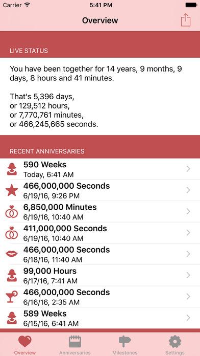 Relationship Calc iPhone Screenshot 1