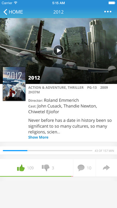 how to watch movies from iphone to tv