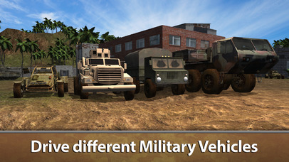 Army Truck Offroad Simulator 3D Full screenshot 2