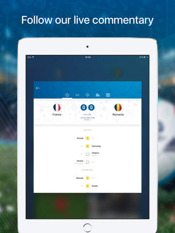 Euro Live — Scores & News for 2016 European Soccer Championship Screenshots