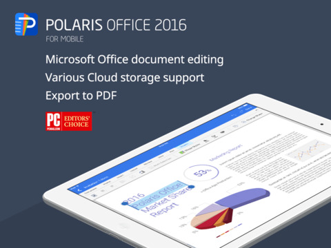 Polaris Office 2016  for PDF + Microsoft Office Word, Excel, Powerpoint Screenshots
