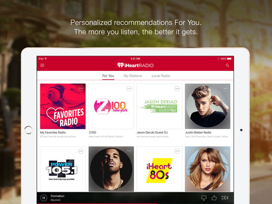 iHeartRadio – Free Music & Internet Radio Stations screenshot