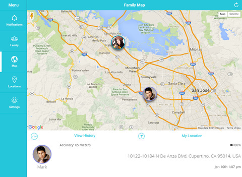 FollowMe: Family Locator - GPS Phone Tracker Screenshots