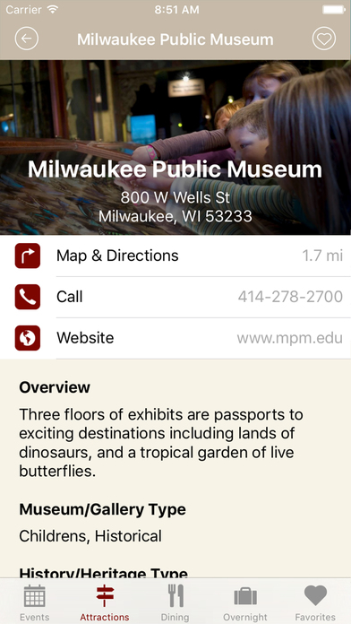 Travel Wisconsin iPhone Screenshot 4