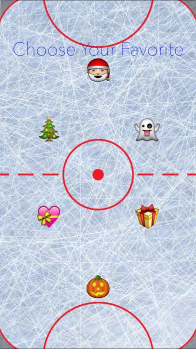 Holiday Air Hockey screenshot 2