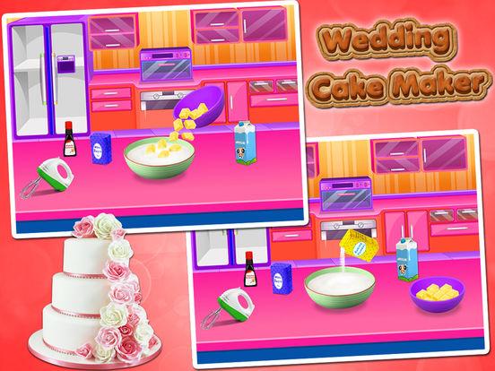 Игры для девочек свадьба торты