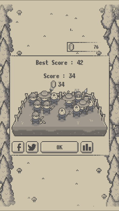 Retro Knights : 2048 Screenshot