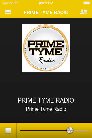 PRIME TYME RADIO screenshot 1