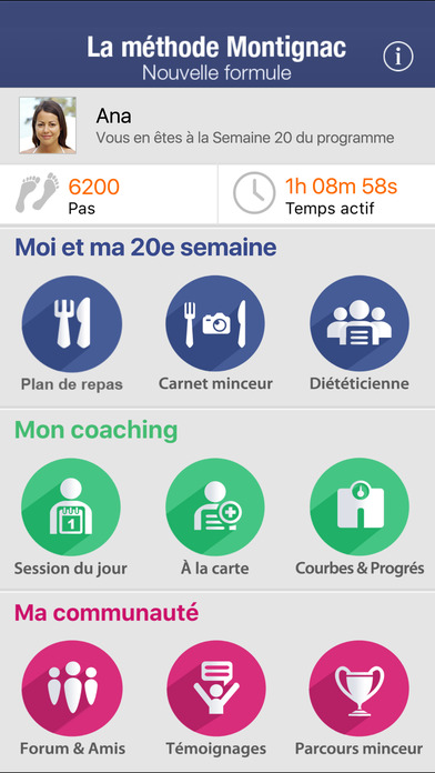 La Méthode Montignac avec Michel Montignac (gratuite) iPhone Screenshot 1