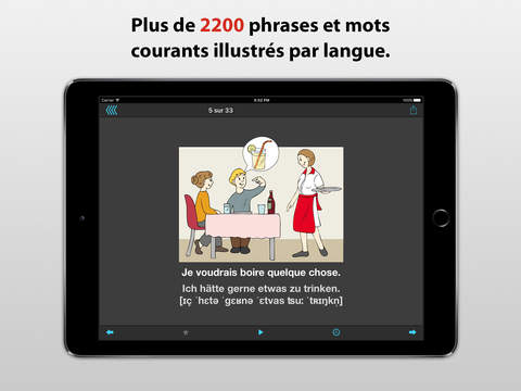 Le traducteur de voyage iPad Screenshot 2