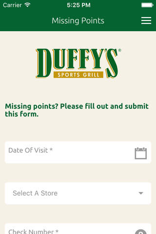 Duffy's MVP screenshot 4