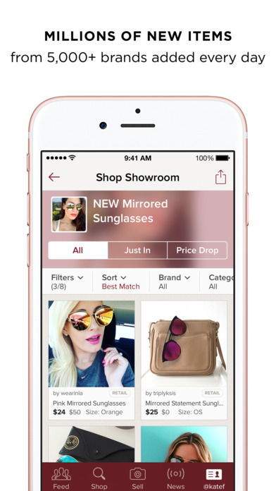 Apps Similar To Poshmark Of Poshmark Buy Sell Fashion On The App Store