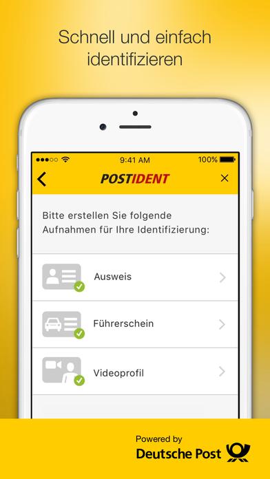 download POSTIDENT apps 3