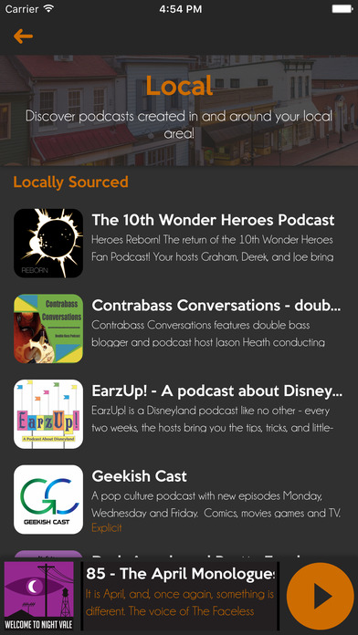 Satchel Podcast Player screenshot