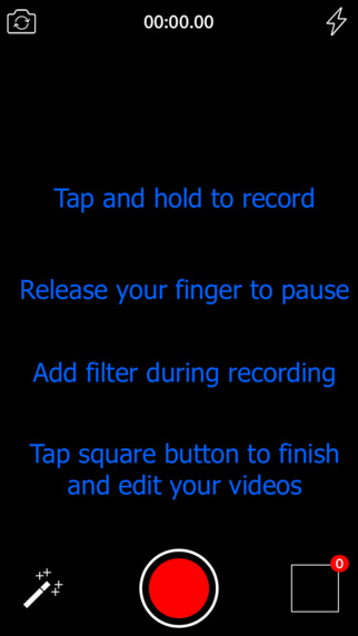 S-Camera Recorder - Tap Screen to Record/Crop/Trim & Cut My Video Screenshots