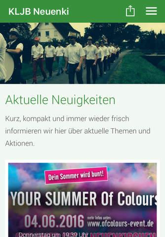 KLJB Neuenkirchen screenshot 1
