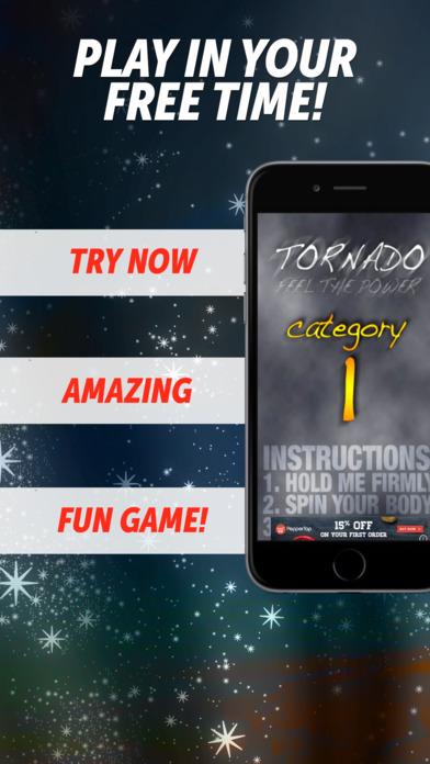 Tornado - Hilarious Spinning Game iPhone Screenshot 1