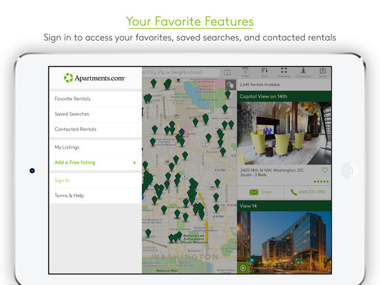 Apartments.com - Apartment Search screenshot