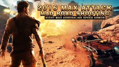 2016 Max Attack Mad Road Shooting – Night Max Adrenaline Speed Armor-0