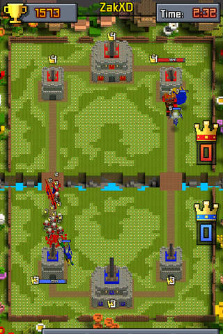 Great Royale Wars - Clash of Block screenshot 2