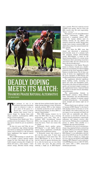 American Trainer Magazine iPhone Screenshot 4