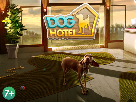 Screenshots of DogHotel Free: My Dog Boarding Kennel for iPad