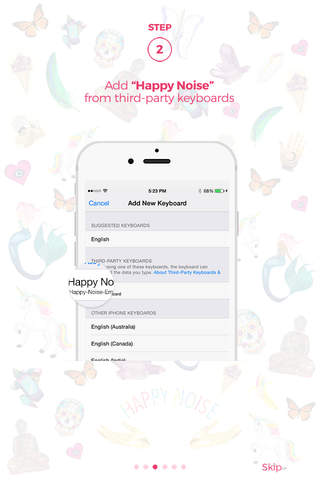 Happy Noise Emojis screenshot 2