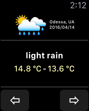 OWeather – weather forecast and weather maps Screenshots