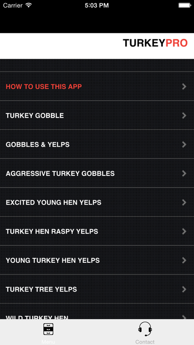 REAL Turkey Calls for Turkey Callin BLUETOOTH COMPATIBLE Screenshot